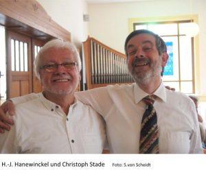 Foto Herren Hanewinckel und Stade