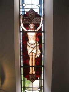 Bild Fenster Kreuzigung Jesu