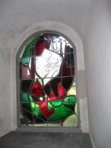 Bild Gedenkfenster Eingang